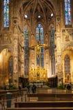 Крытые di Santa Croce базилики оформления в Флоренсе Стоковые Изображения