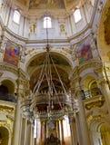 Крытый взгляд замка собора в Праге Стоковые Фото