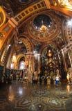 Крытый взгляд нашей дамы церков Казани, Иркутска, Сибиря, России Стоковое Изображение