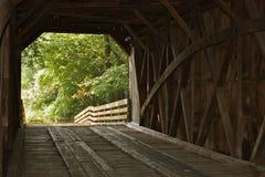 Крытый мост внутрь Стоковое Фото