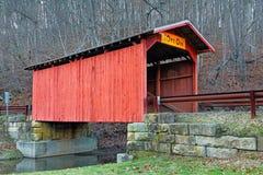 Крытый мост на 100 Стоковое Изображение RF