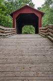 Крытый мост свода заусенца Стоковые Изображения