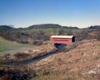 Крытый мост, Челси Квебек Стоковое Фото