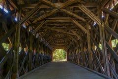 Крытый мост Стоковая Фотография