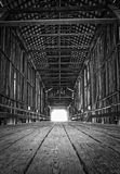 Крытый мост Стоковое Изображение RF