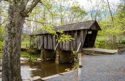 Крытый мост стоковые фотографии rf