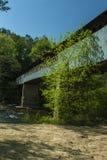Крытый мост, AL Стоковые Фотографии RF