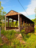 Крытый мост Cuppett стоковое изображение rf