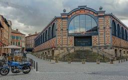 Крытый рынок Альби стоковые фото