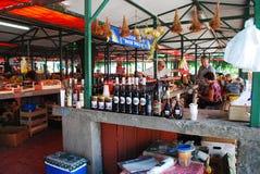 Крытый рынок в Мостаре Стоковое Фото