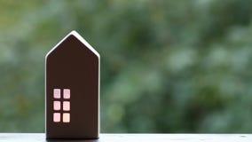Крытый свет в доме Дом уюта сток-видео