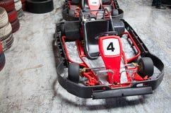 Крытый karting Стоковые Изображения