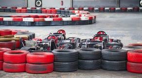 Крытый karting Стоковая Фотография RF