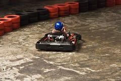 крытый karting Стоковые Фото