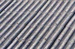 Крыша азбеста Стоковые Изображения