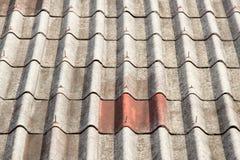 Крыша азбеста Стоковые Фото