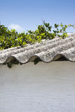 Крыша азбеста Стоковая Фотография RF