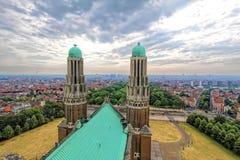 Крыша базилики священного сердца Стоковая Фотография RF