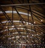 Крыша большого современного storehouse Стоковые Фотографии RF