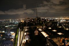 Крыша верхний Бангкок Стоковое Изображение