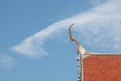 Крыша виска Стоковая Фотография