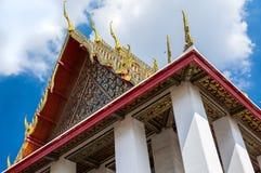 Крыша виска Wat Pho Стоковое фото RF