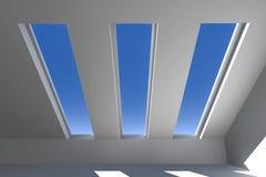крыша вниз Стоковая Фотография RF