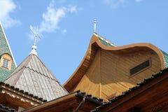Крыша дворца Стоковое Фото