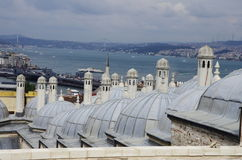 Крыша в Стамбуле Стоковые Изображения RF