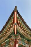 крыша дворца детали корейская стоковое фото rf