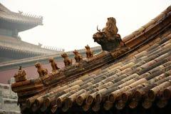 крыша дворца Стоковые Фото