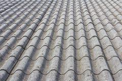 крыша деревенского дома азбеста Стоковая Фотография RF