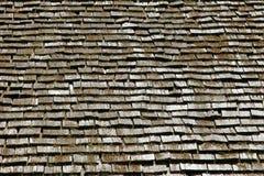 крыша деревянная Стоковое фото RF