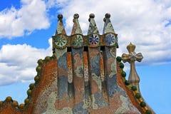 крыша детали Стоковое Фото