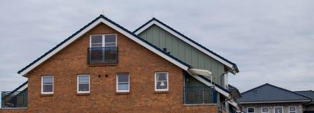 крыша дома элемента конструкции стоковое изображение