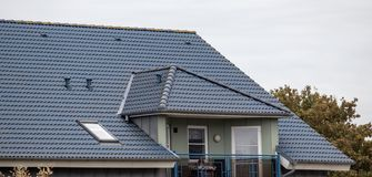 Крыша дома стоковые фото
