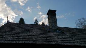 Крыша деревни Викингов Стоковые Изображения