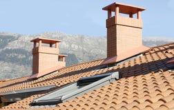 Крыша жилого дома Стоковое Изображение