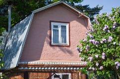 Крыша загородного дома Стоковое Изображение