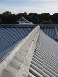 Крыша замка Kanazawa стоковое изображение rf