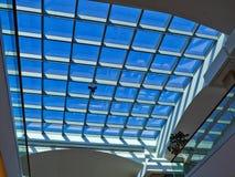 крыша здания стеклянная самомоднейшая стоковая фотография rf