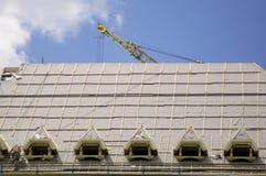 крыша здания Стоковая Фотография