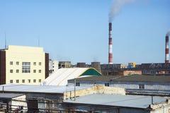 Крыша зодчество промышленное Стоковые Фотографии RF