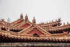 Крыша здания Стоковое Изображение RF