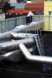 крыша индустрии воздуха Стоковое Изображение