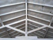 Крыша и древесина стоковая фотография