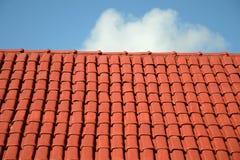 Крыша и небо Стоковая Фотография RF
