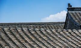 Крыша и небо Стоковая Фотография