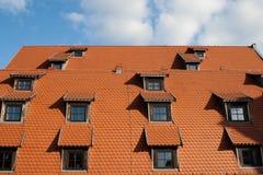 Крыша и окна. стоковая фотография rf