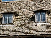 Крыша и окна Стоковое Изображение